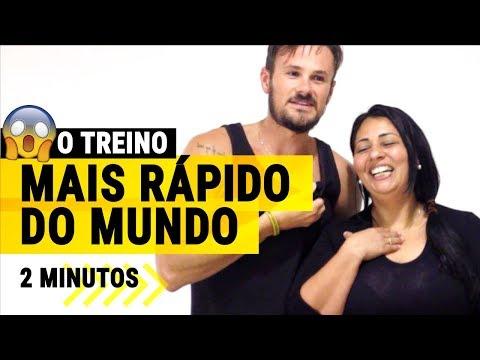 Treino Mais Rápido do Mundo Para Queimar Gordura