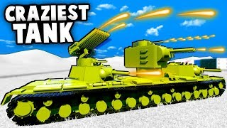 CRAZIEST LEGO Russian TANK Ever Made DESTROYS Army Invasion! (Brick Rigs Gameplay)