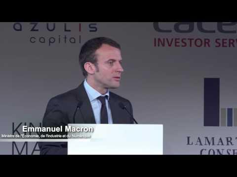 CAIC 2016 - Intervention d'Emmanuel Macron