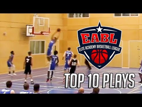 EABL Top 10 Plays Week 13 - 2017/18 Season