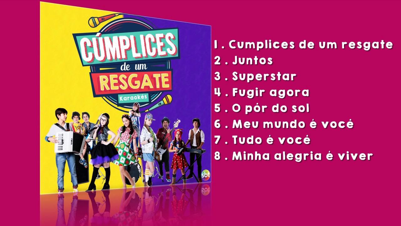 ce752f6d4cf68 Cúmplices de um resgate Karaokes (Brasil) - CD Completo - YouTube