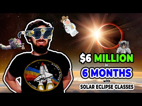 'GSD' Power Hour Ep. 19 - $6 Million in 6 Months w/ Solar Eclipse Glasses