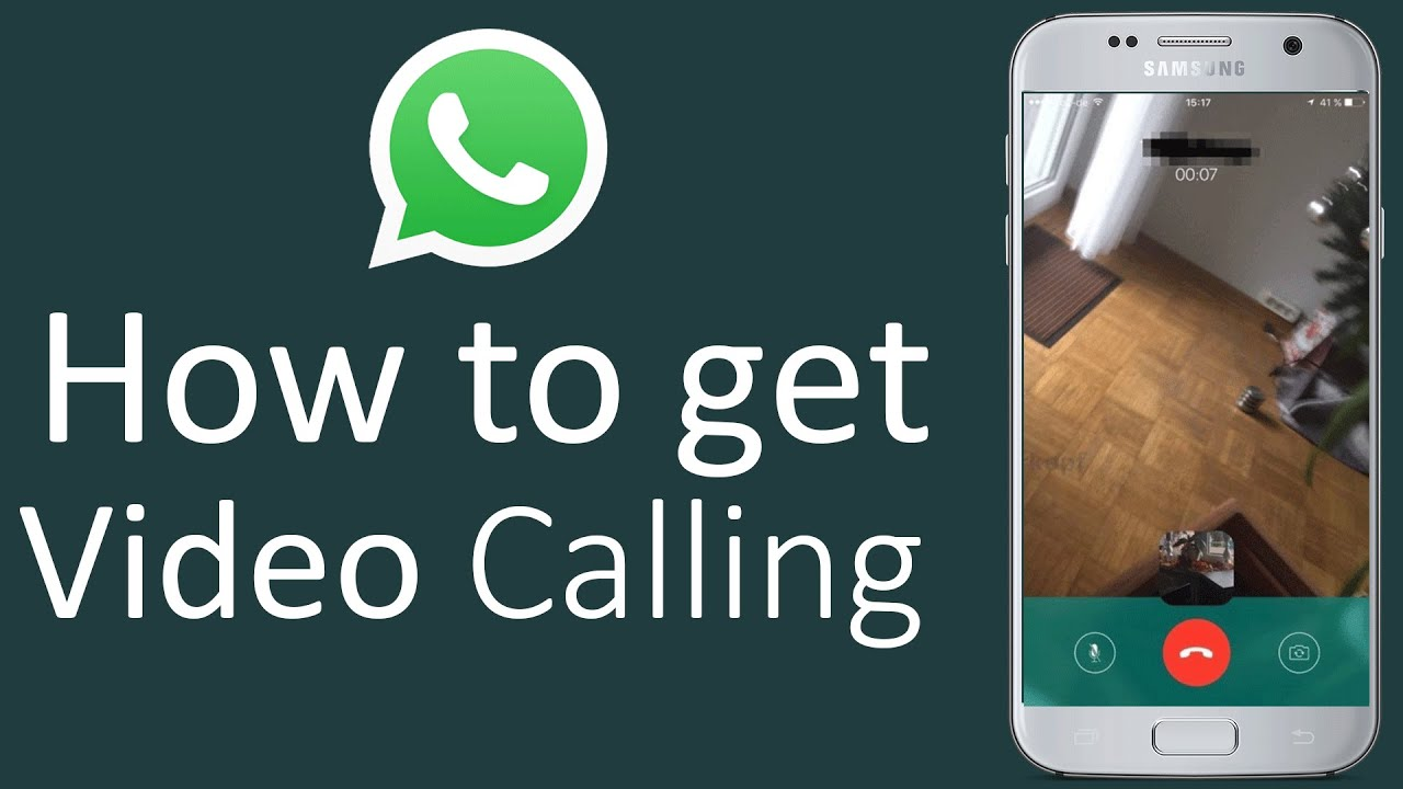 How to Activate WhatsApp Video Calling in Android - YouTube