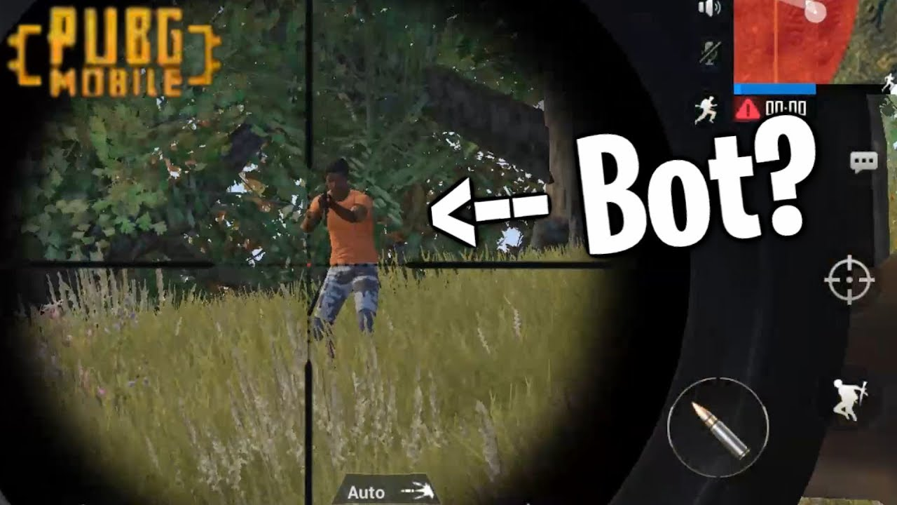 PUBG Mobile - Is It REALLY Full Of Bots? (yes btw, outdated video is  outdated)