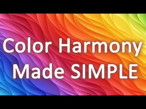 Why some colors match well?! Color Harmony Secret Simplified