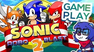 O MELHOR FANGAME DO SONIC? • Sonic Robo Blast 2