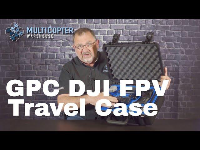 GPC DJI FPV Drone Travel Case