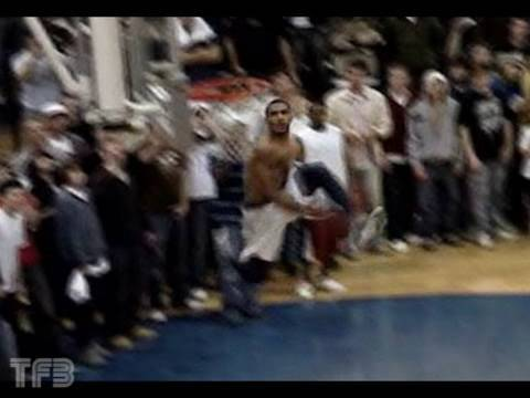 """TFB::Dunks:: 6'1"""" Elevator - 360 Between the Legs,540 Dunk & Behind the Back dunk in a game!"""