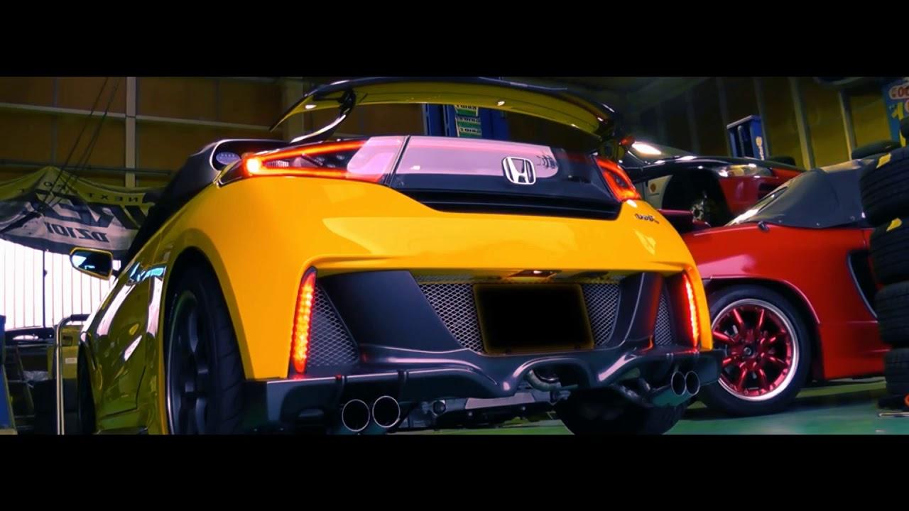 Tuning Kei Car Tuning Honda S660 Sportauspuffanlage Youtube