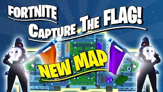 EPIC 16 PLAYER 'CAPTURE THE FLAG' MAP BUILT IN FORTNITE CREATIVE MODE WITH MAP CODE