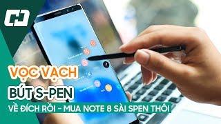Trải nghiệm bút Spen trên GALAXY NOTE 8 | Hoàng Hà Channel