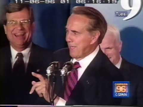 1996 Bob Dole Concession Speech