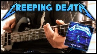 Metallica - Creeping Death - Bass Cover - Full HD 1080p