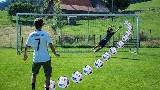 EURO 2016 FUSSBALL PENALTY CHALLENGE! DEUTSCHLAND vs. FRANKREICH