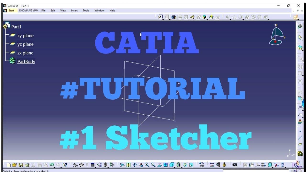 Tamil 1 sketch 1 catia youtube tamil 1 sketch 1 catia sciox Images