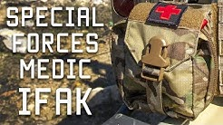 How a Special Forces Medic sets up his IFAK | Individual first aid kit | Tactical Rifleman