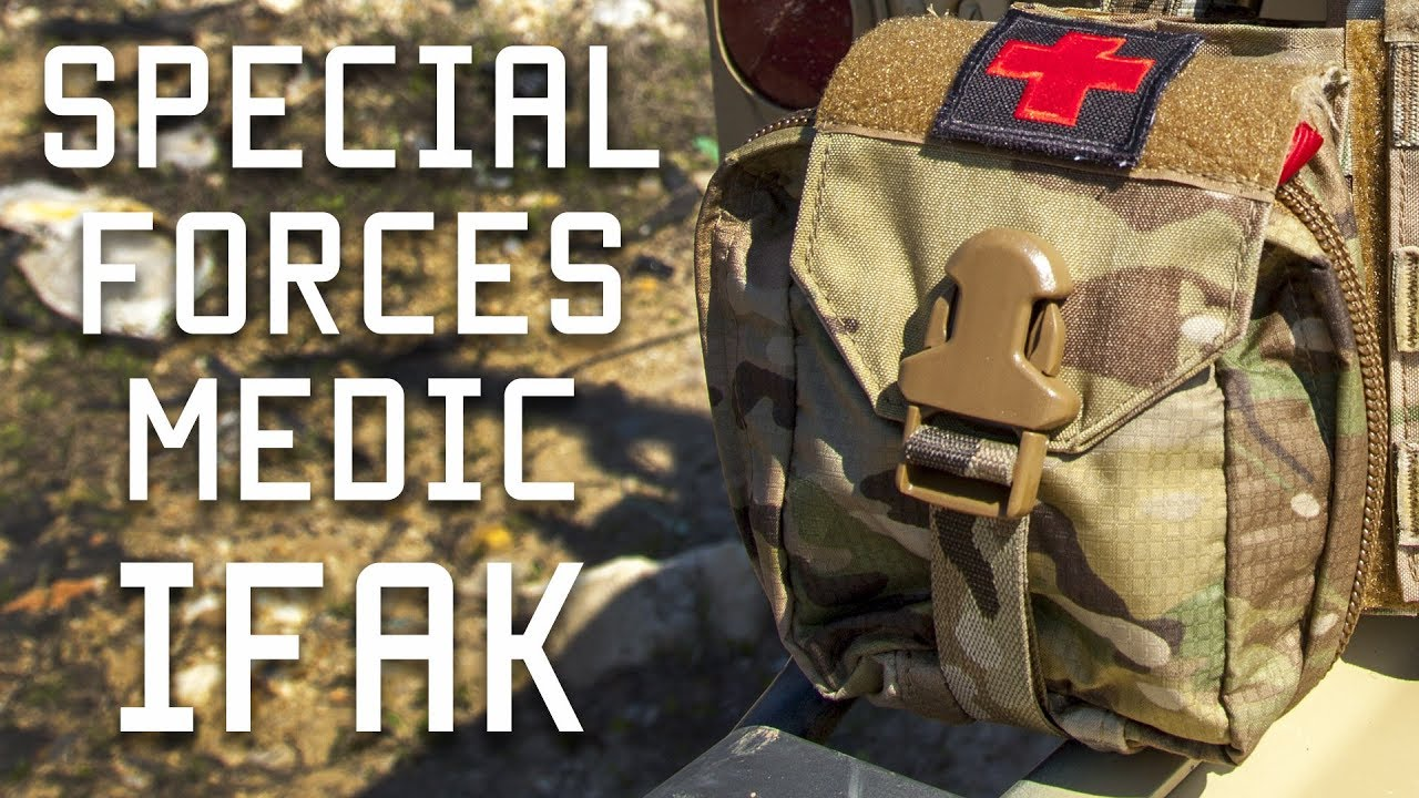 How a Special Forces Medic sets up his IFAK (Individual First Aid