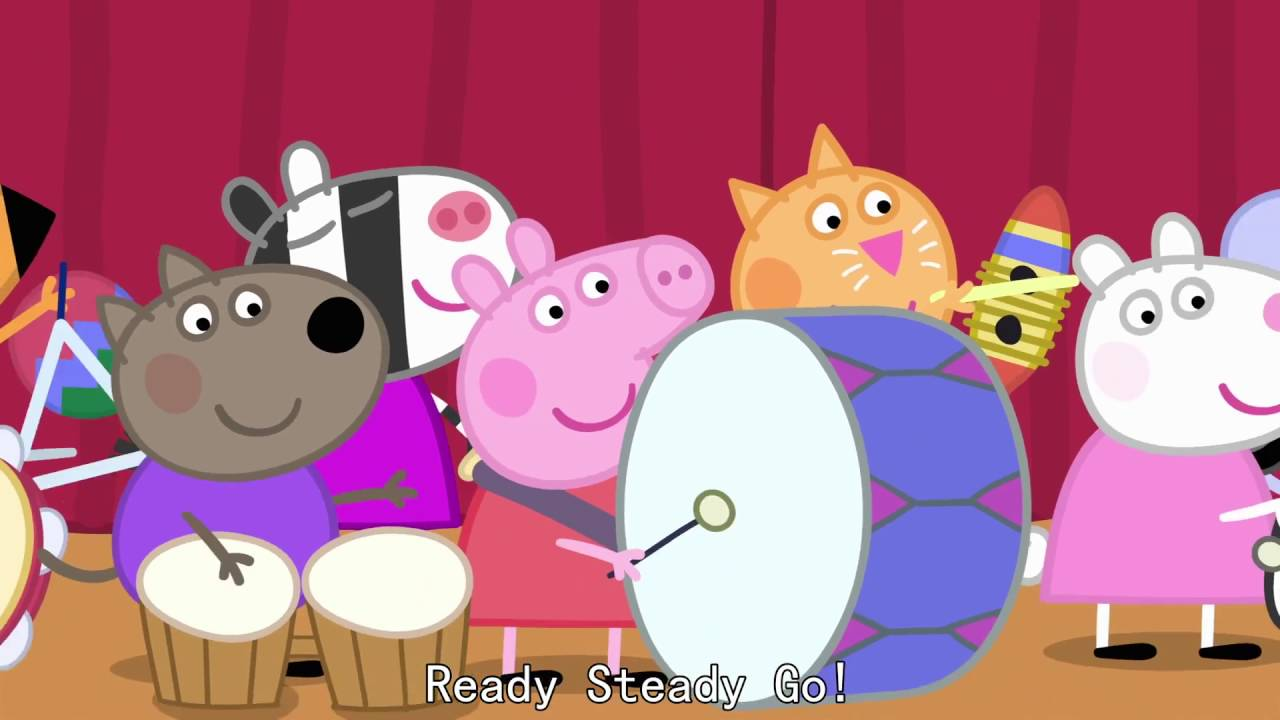 Peppa Pig - Shake, Rattle and Bang (40 episode / 3 season) [HD]