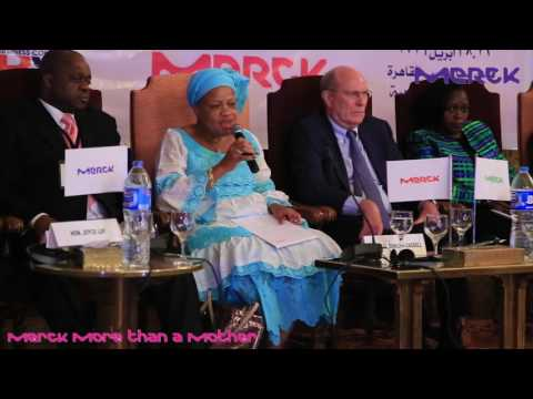 Merck More Than A Mother Campaign - Pan African Launch - H. E. Julia Cassell