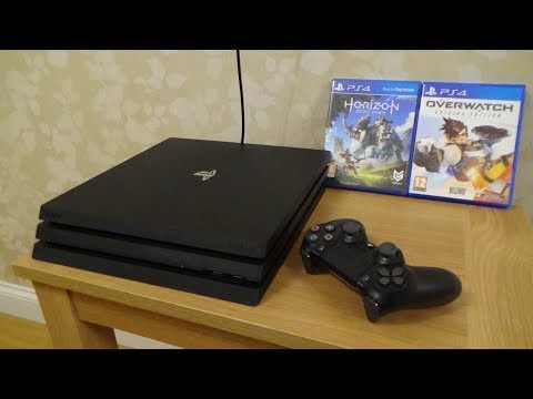 How to SETUP the PS4 PRO Console for Beginners