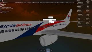 Flying to Jakarta in a 737-800 aircraft in roblox. Airport: Ipoh airport