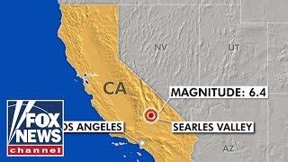 Magnitude 6.4 earthquake hits Southern California