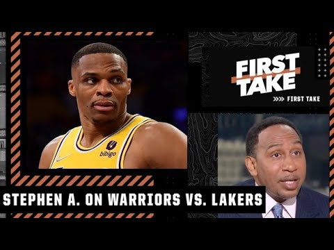 Stephen A. reacts to the Lakers' loss to the Warriors: The Lakers have to play differently!