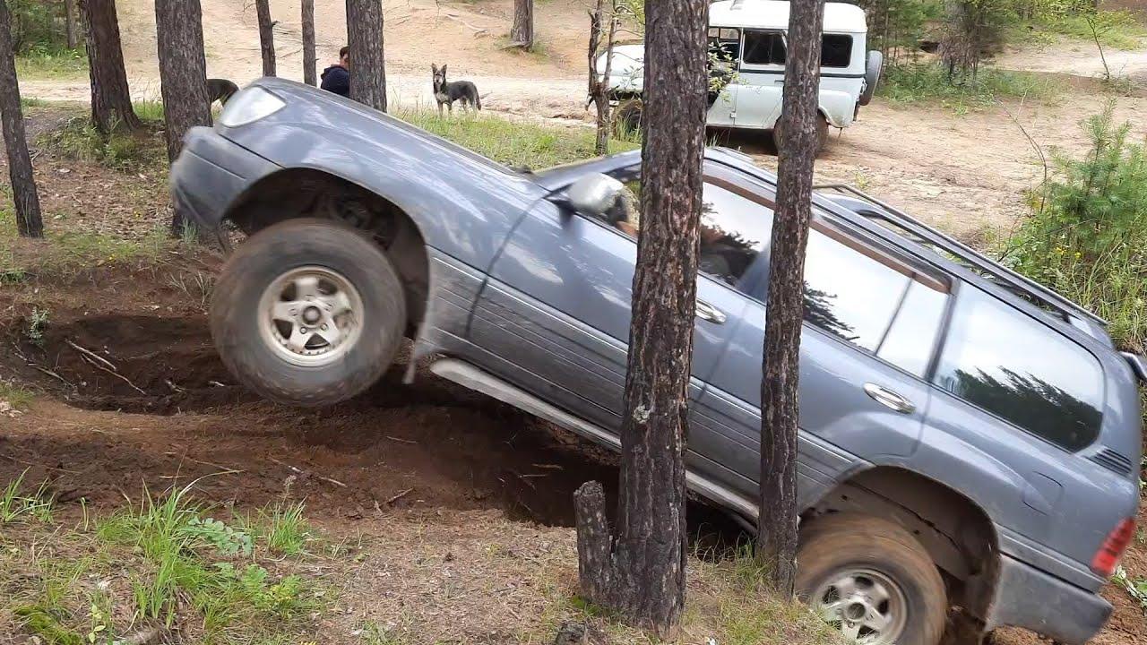 Кто лучше на бездорожье: Lexus LX 470 vs УАЗов на вояках и на спайсерах. OffRoad
