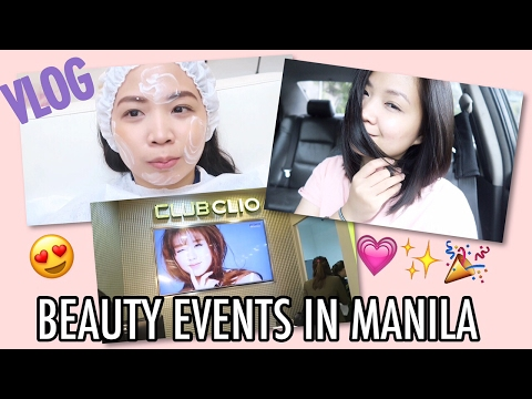 VLOG: Beauty YOUTUBER EVENTS in the PHILIPPINES 💗 | Raych Ramos ✨