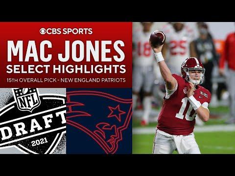 Mac Jones: Select Highlights | 15th Overall Pick | 2021 Draft | CBS Sports HQ