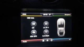 Mustang 2015-2016 Navigation Screen Upgrade