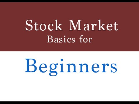 Five Basics You Should Definitely Know About The Stock Market