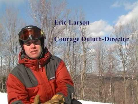 Courage Center Duluth - monoski program