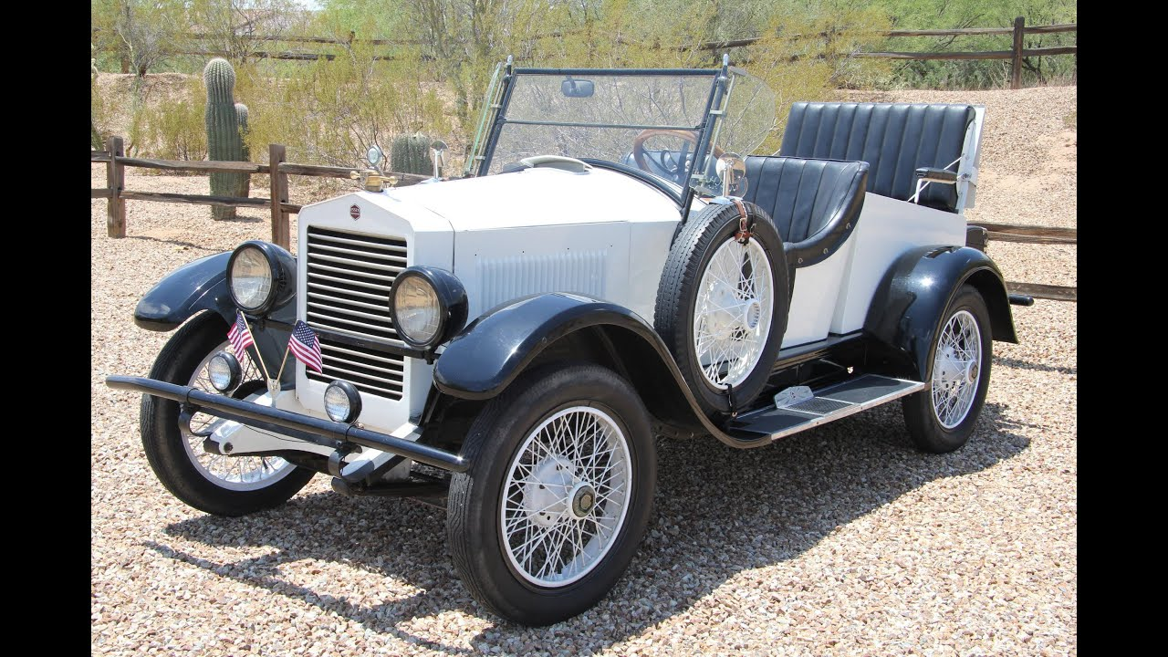 1923 Essex (Hudson) Raceabout Roadster (For Sale by Owner) - YouTube