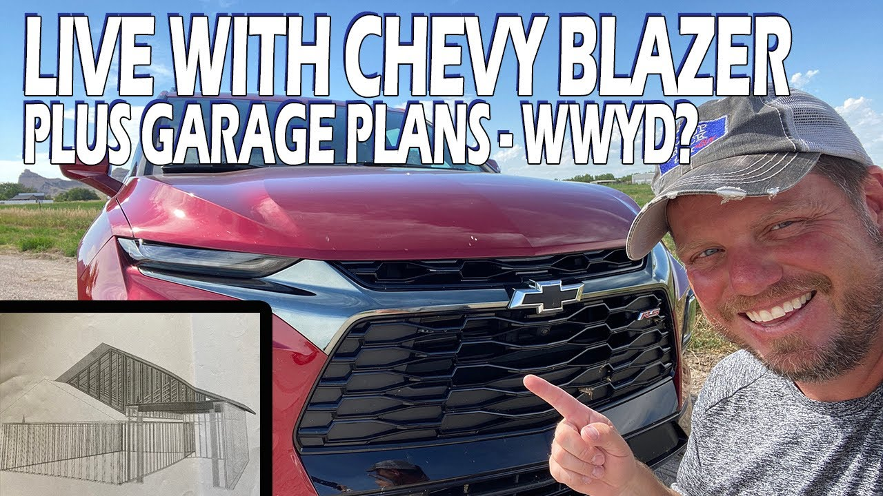 Live with 2020 Chevy Blazer Plus Garage Talk!