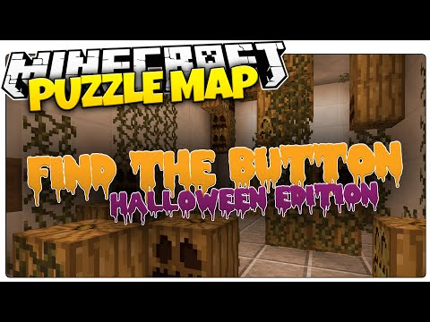 Minecraft | FIND THE BUTTON | HALLOWEEN EDITION (Minecraft Puzzle Map)