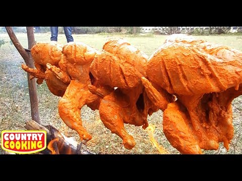 10 KG Full Tandoori Chicken Prepared By Boys / Country Cooking