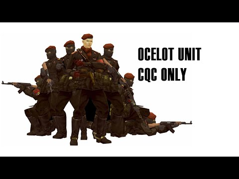 Metal Gear Solid 3: Snake Eater Ocelot Unit (CQC only | no alarms | E. Extreme)
