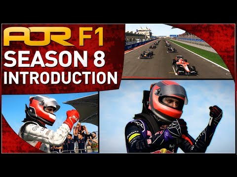 F1 2013 | AOR F1: Season 8 Team & Driver Introduction
