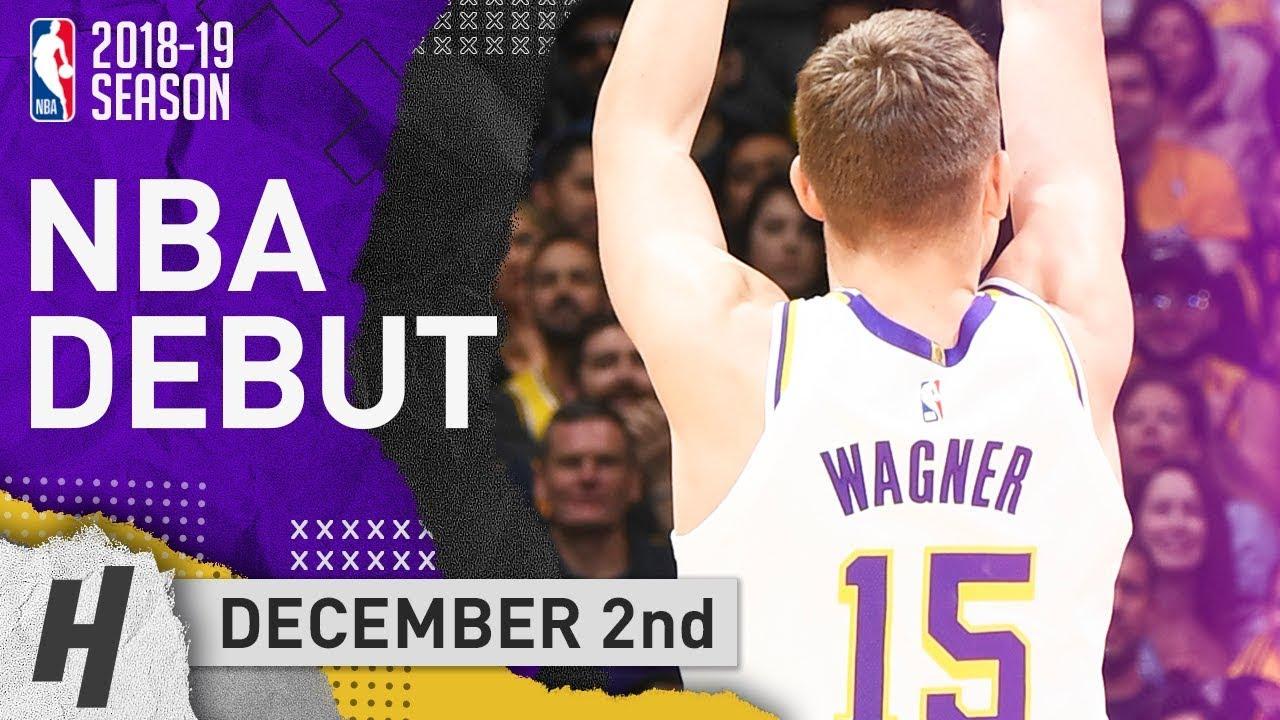4bab3af82ca Moritz Wagner Official NBA Debut Full Highlights Lakers vs Suns 2018.12.02  - 10 Points