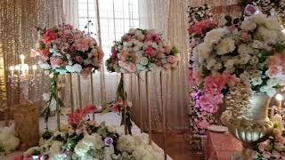NEW 2018/2019 LUXURY EVENT DECOR  -  INDIAN/PAKISTANI WEDDING STAGES
