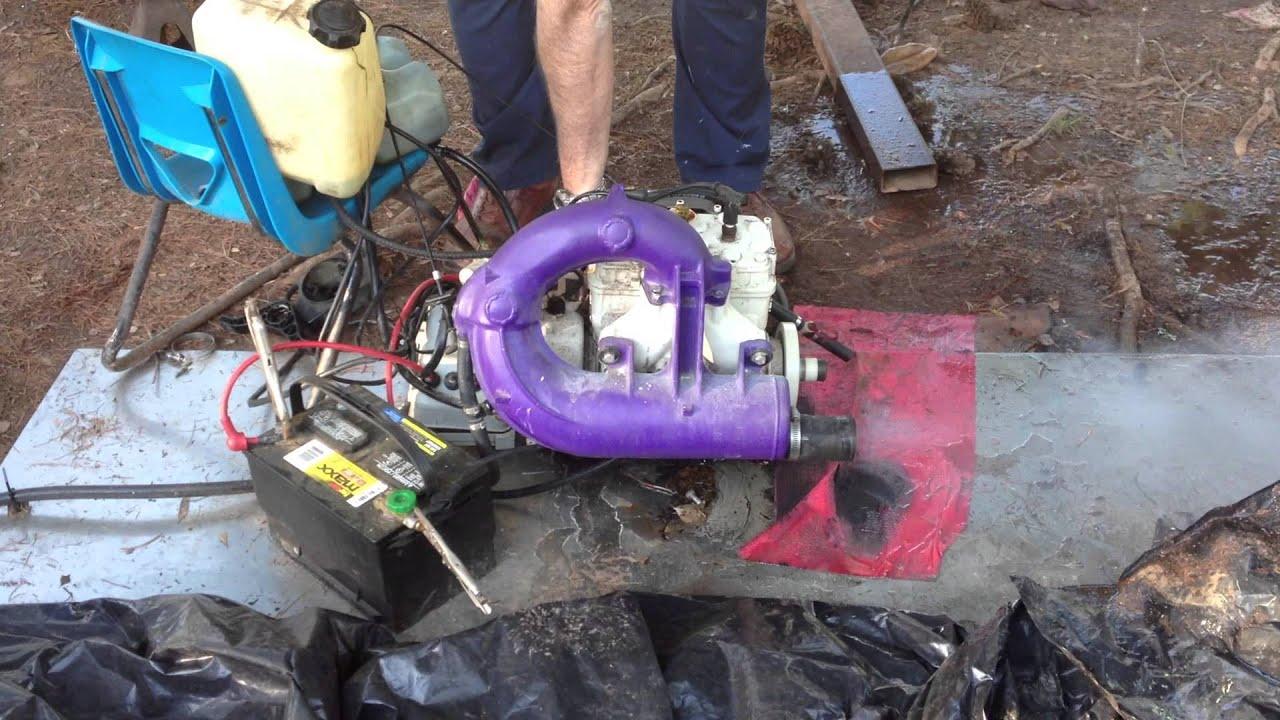 Sea Doo Jet Ski Parts Diagram Photocell Control Wiring Running Rotax Motor Youtube