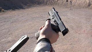 実弾射撃 シグ P226 自動拳銃 (SIG Sauer P226 9mm)