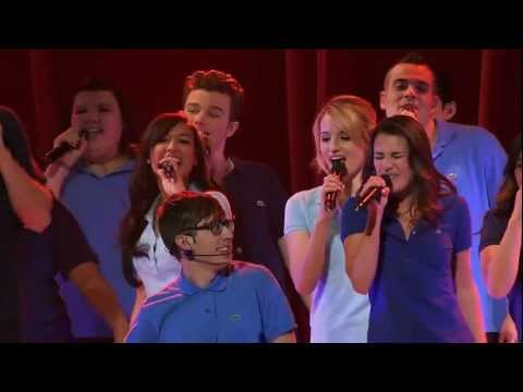 Glee 3D Movie - Don´t Stop Believing Performance