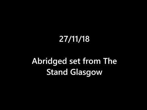 JOE IRVINE Stand Up (RED RAW Set 27/11/18)