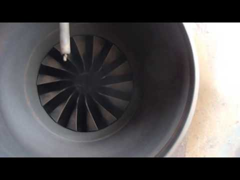 Turbine Buggy 1st test drive with DIY fuel controller/pump..