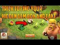 trick to find your hidden gem box and cake | clash of clans | cocwithaj