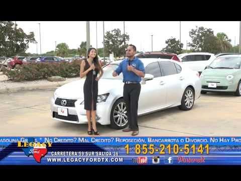 Lagacy Ford on Mi Gente TV Houston