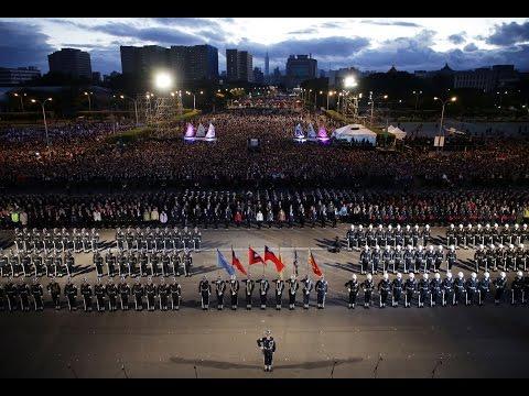 20170101 總統、副總統出席中華民國106年元旦總統府升旗音樂會