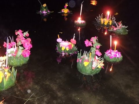 Festival of Lights - Loy Krathong - Phuket Thailand